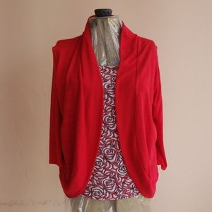 XL all in one blouse jacket